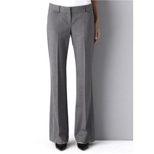 Theory Wool Blend Gray Dress Pants 2